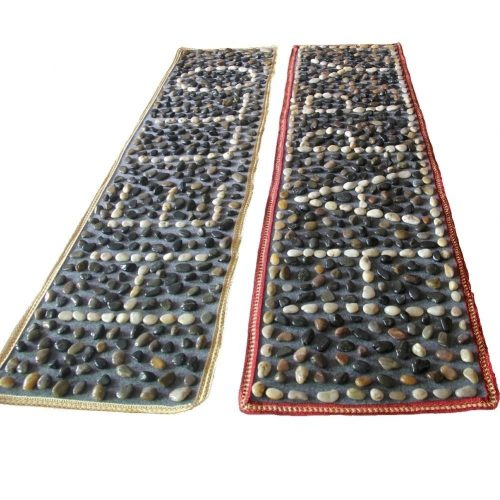 EliteShine 2-piece Rock Massage Mat