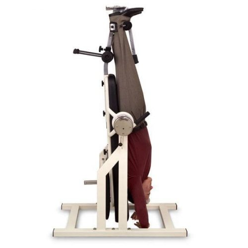 Try the Teeter DFM Inversion Table (bodymassageshop)